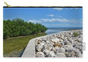 Mangroves Rocks And Ocean Carry-all Pouch