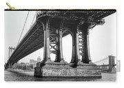 Manhattan Bridge, Afternoon Carry-all Pouch by Gary Heller