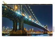 Manhattan Bridge Framing Freedom Tower Carry-all Pouch