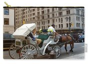 Manhattan Buggy Ride Carry-all Pouch