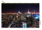 Manhattan By Night Carry-all Pouch