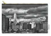 Manhattan Nyc Storm Clouds Cityview Carry-all Pouch