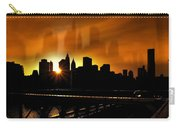 Manhattan Silhouette Carry-all Pouch by Svetlana Sewell