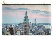 Manhattan Skyline Panoramic, New York City, Usa Carry-all Pouch
