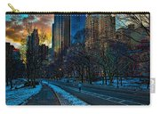 Manhattan Sunset Carry-all Pouch by Chris Lord