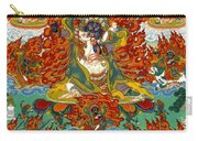 Maning Mahakala With Retinue Carry-all Pouch