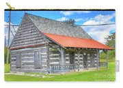 Manistique Schoolcraft County Museum Log Cabin -2158 Carry-all Pouch