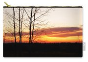 Manitoba Sunset Carry-all Pouch