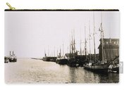 Manitowoc Harbor 1889 Or 1890 Carry-all Pouch