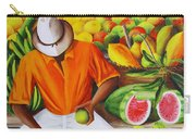Manuel The Caribbean Fruit Vendor  Carry-all Pouch