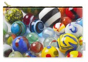 Many Beautiful Marbles Carry-all Pouch by Garry Gay