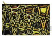 Many Flowers Abstract Carry-all Pouch