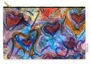 Many Hearts Carry-all Pouch