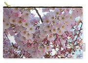 Many Pink Blossoms Carry-all Pouch
