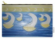 Many Sailing Boats On The Sea Carry-all Pouch