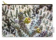 Many Stems Of Poky Small Cactus In Desert Carry-all Pouch