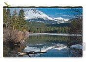 Manzanita Lake Reflects On Mount Lassen Carry-all Pouch