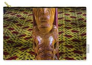 Maori Greeter Carry-all Pouch