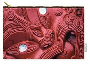 Maori Tilted Head Carry-all Pouch