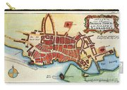 Map: Barbados, C1770 Carry-all Pouch