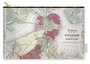 Map: Boston, 1865 Carry-all Pouch