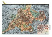 Map: Boston, C1880 Carry-all Pouch