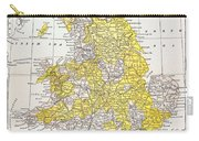 Map: England & Wales Carry-all Pouch