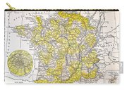 Map: France Carry-all Pouch