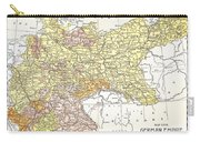 Map: German Empire Carry-all Pouch