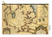 Map Of Africa 1690 Carry-all Pouch
