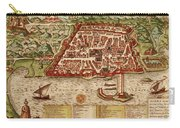 Map Of Algiers 1541 Carry-all Pouch