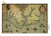 Map Of America 1590 Carry-all Pouch