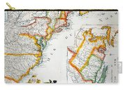 Map Of America, 1779 Carry-all Pouch
