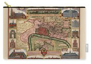 Map Of Antwerp 1675 Carry-all Pouch