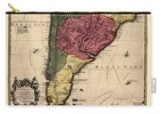 Map Of Argentina 1700 Carry-all Pouch