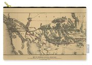 Map Of Arizona 1857 Carry-all Pouch