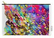 Map Of Arizona-colorful Carry-all Pouch