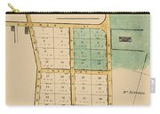 Map Of Auckland 1863b Carry-all Pouch