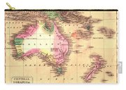Map Of Australia 1828 Carry-all Pouch