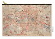 Map Of Berlin 1895 Carry-all Pouch