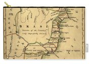Map Of Brazil 1808 Carry-all Pouch