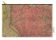 Map Of Buffalo 1896 Carry-all Pouch