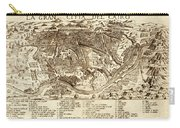 Map Of Cairo 1575 Carry-all Pouch