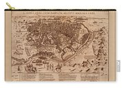 Map Of Cairo 1600 Carry-all Pouch