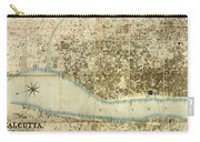 Map Of Calcutta 1857 Carry-all Pouch