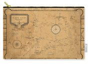 Map Of Cape Cod 1931 Carry-all Pouch