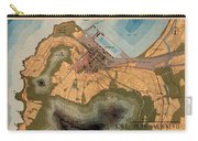 Map Of Cape Town 1947 Carry-all Pouch