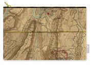 Map Of Chattanooga 1895 Carry-all Pouch