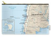 Map Of Chile Carry-all Pouch