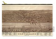 Map Of Cleveland 1877b Carry-all Pouch